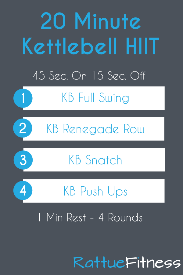20 Minute Full Body Kettlebell Workout