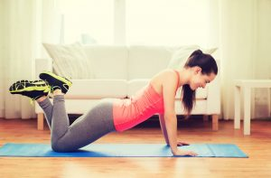 Home bodyweight pyramid hiit workout